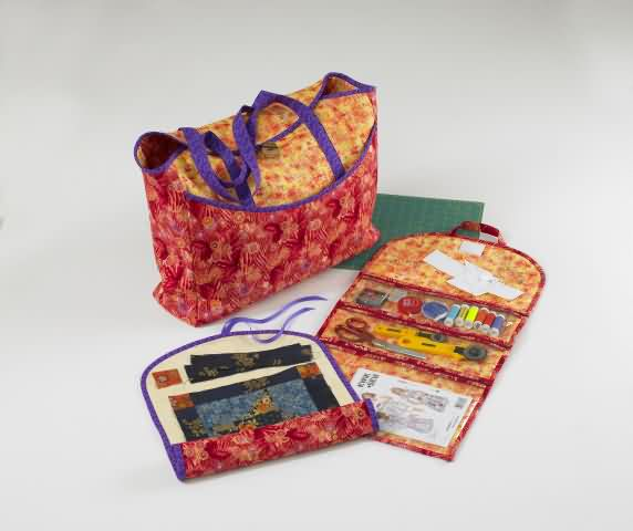 Kwik Sew 3464 Crafts Bag Quilt Roll And Organizer
