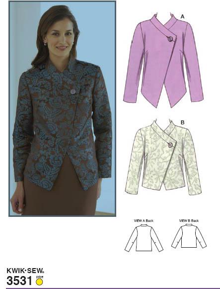 Kwik Sew 3531 Jackets