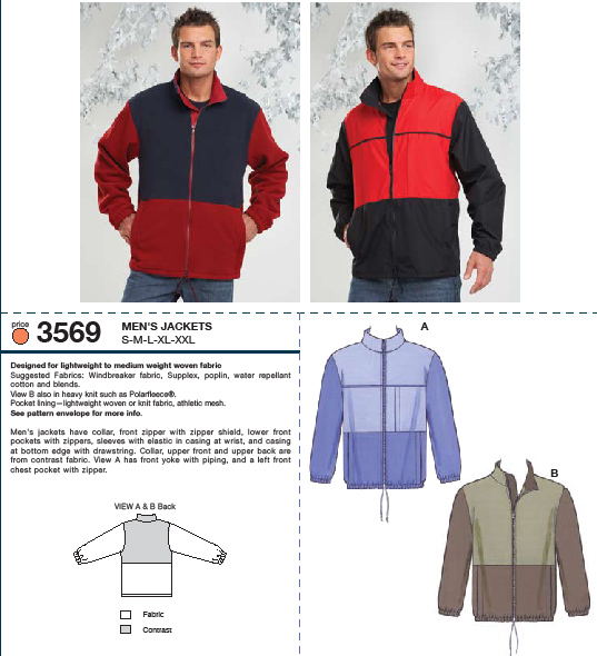 Kwik Sew 3569 Jackets