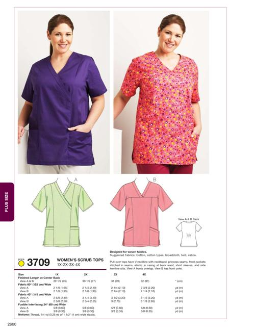 Kwik Sew 40 Scrub Tops Stunning Scrub Top Patterns