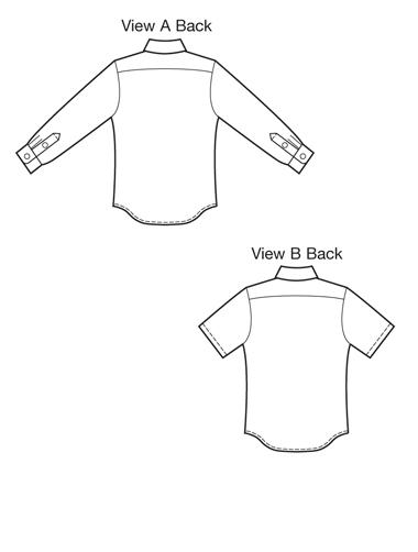 Kwik Sew 3883 Mens Shirts