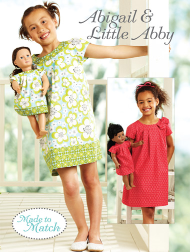 Kwik Sew 3905 Abigail & Little Abby Made to Match® Dresses
