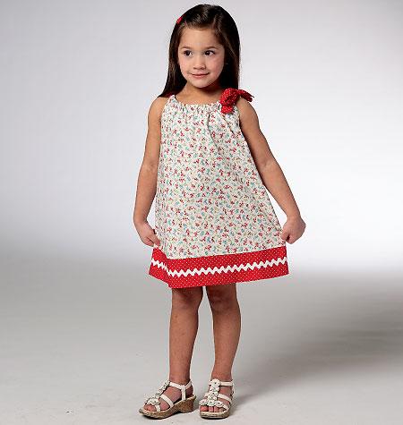 Kwik Sew 3934 Toddlers\' Dress & Tunic
