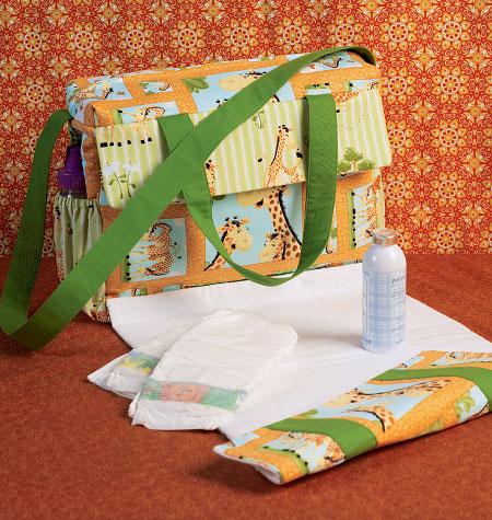 Kwik Sew 4019 Diaper Bag