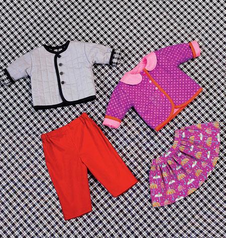 Kwik Sew 4080 Baby Jacket, Skirt and Pants
