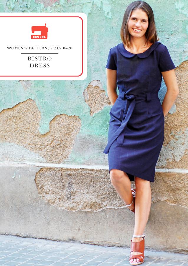 Liesl Co Lc013bd Bistro Dress Downloadable Pattern