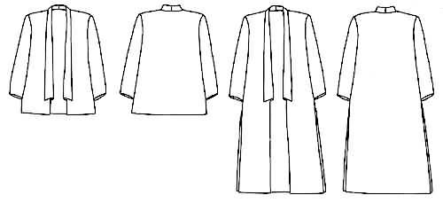 Loes Hinse Designs 5103 Kimono Jacket