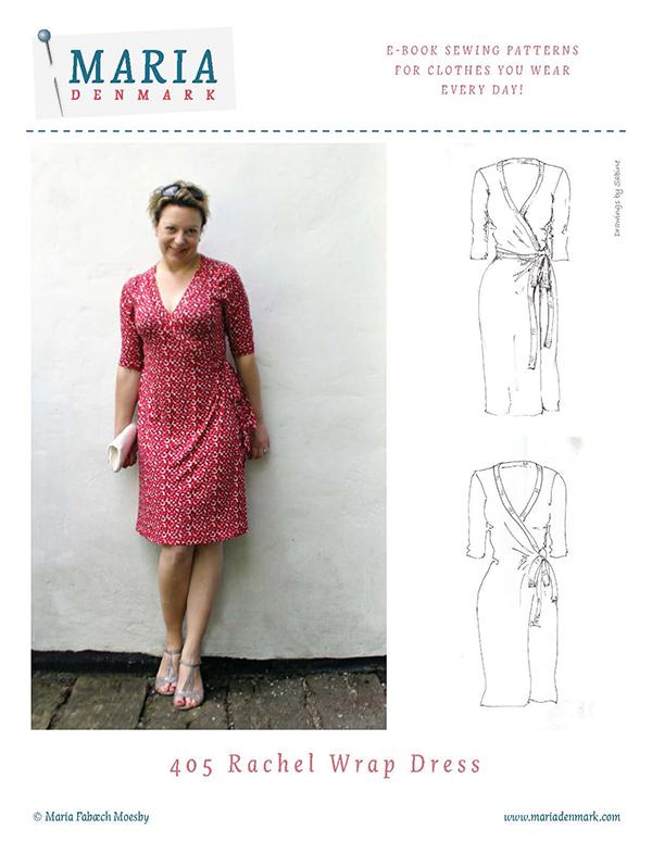 MariaDenmark 405 Rachel Wrap Dress Downloadable Pattern