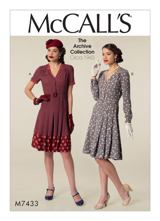 McCall's 40 Misses' Inverted NotchCollar Shirtdresses And Belt Simple Mccalls Pattern