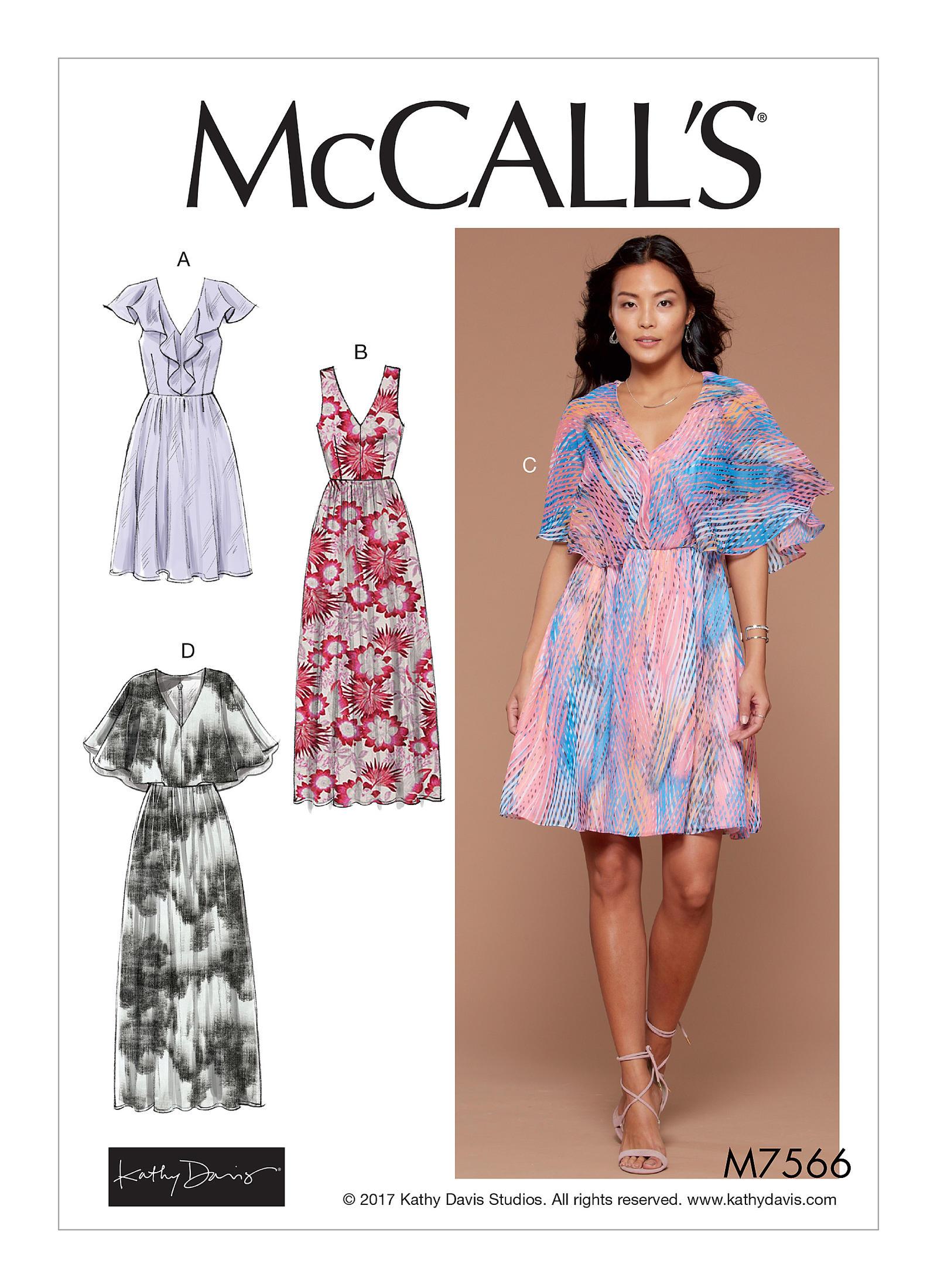 adb4e49810d McCall s 7566 Misses  V-Neck