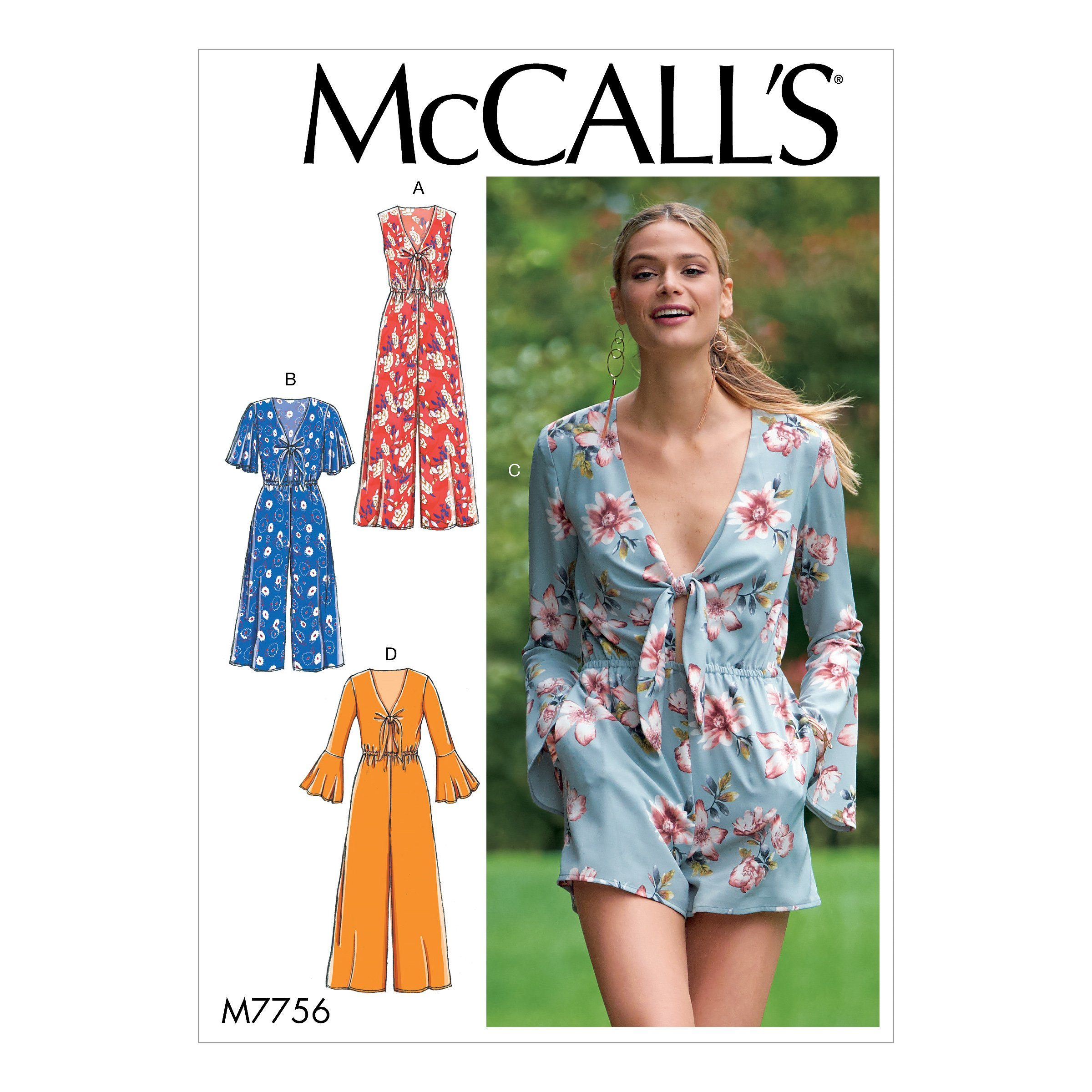 McCalls Easy SEWING PATTERN M7775 Misses Dresses 6-14 Or 14-22