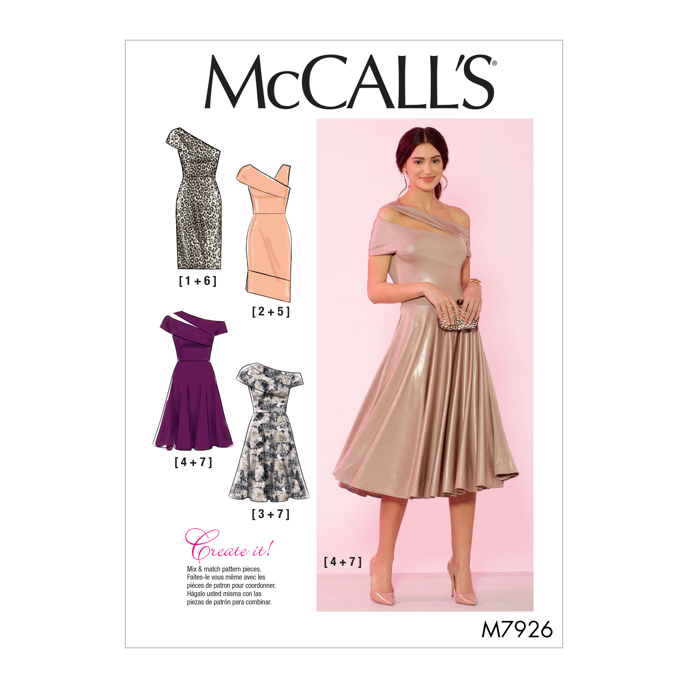 e8e5ec7e742d7 McCall's 7926 Misses' and Women's Special Occasion Dresses