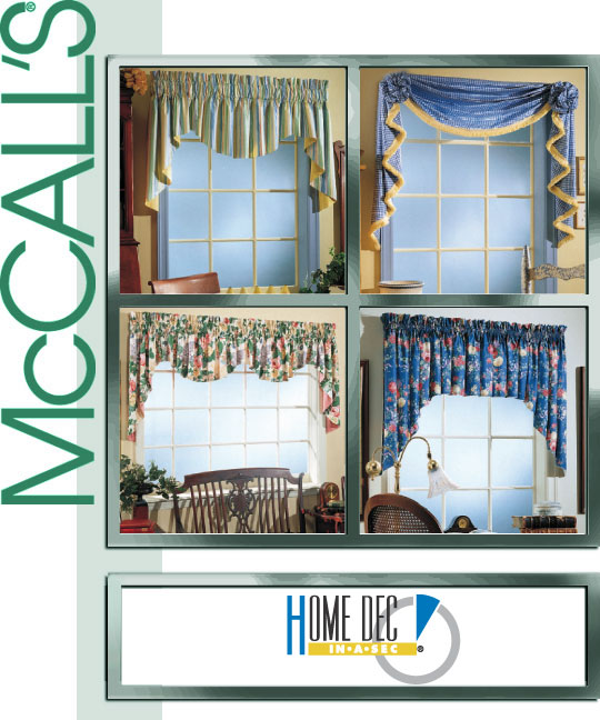 McCall's 3089 2 Hour Valance Classics