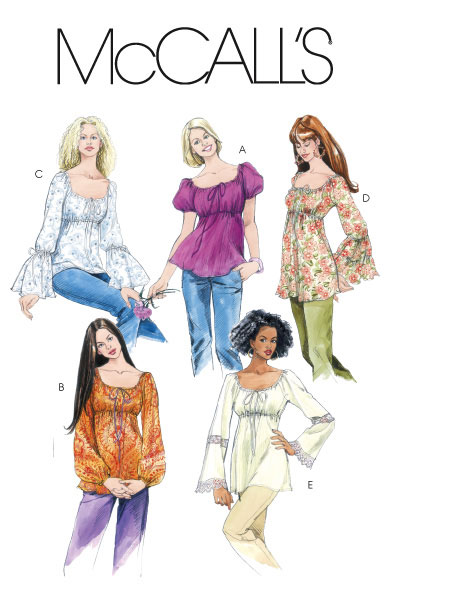 McCall\'s 5050 Tops and Tunics