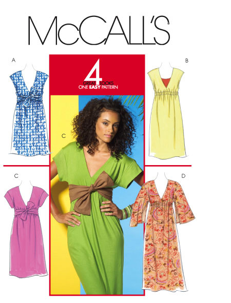 McCall's 5423 Misses Knit Dress