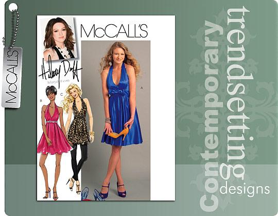 McCall\'s 5748 halter dress
