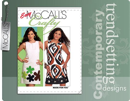 McCall\'s 5799 shift dress