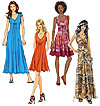 McCalls 6074 Pattern ( Size 6-8-10-12-14 )