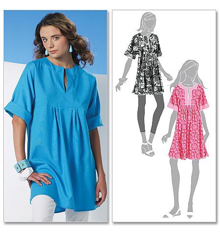 McCallu0026#39;s 6080 Missesu0026#39; Tunic And Dress