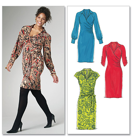 Mccall S 6163 Misses Women S Dresses And Sash