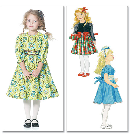 McCall\'s 6197 Children\'s/Girls\' Dresses