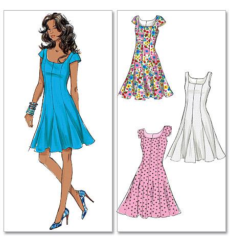 McCall's 6263 misses dress