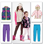 McCalls 6430 Pattern ( Size 3-4-5-6 )