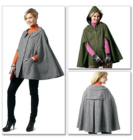how to make a hooded cloak without sewing