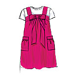 McCalls 6582 Pattern ( Size 3-4-5-6 )