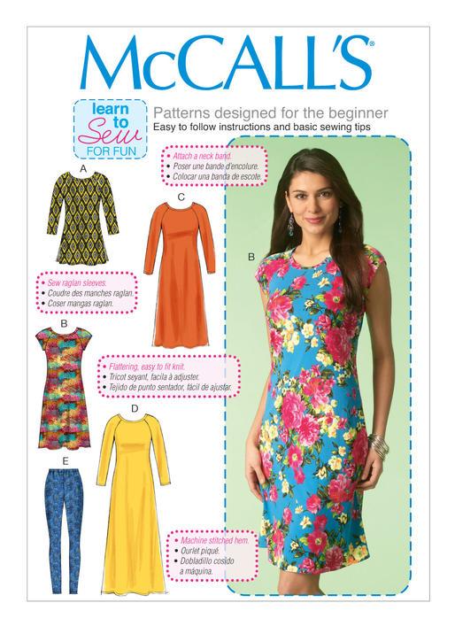 Mccalls 7122 Misses Tunic Dresses And Leggings