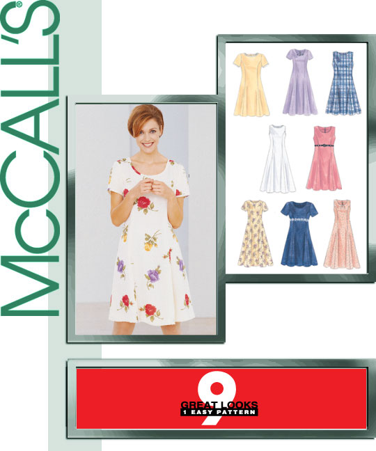 McCall's 8107 Misses Dress In Two Lengths