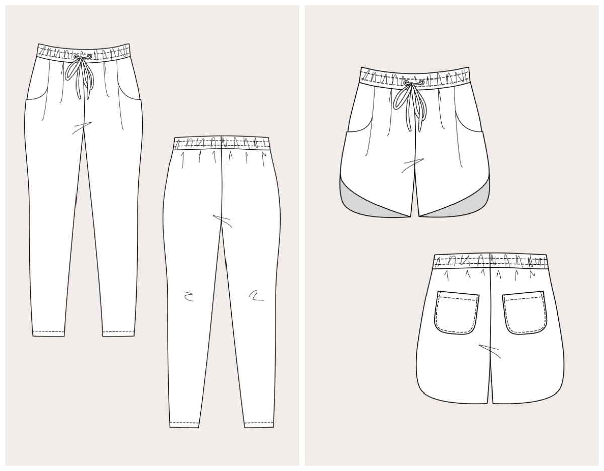 Named Clothing 05 060 Alexandria Peg Trousers Amp Track