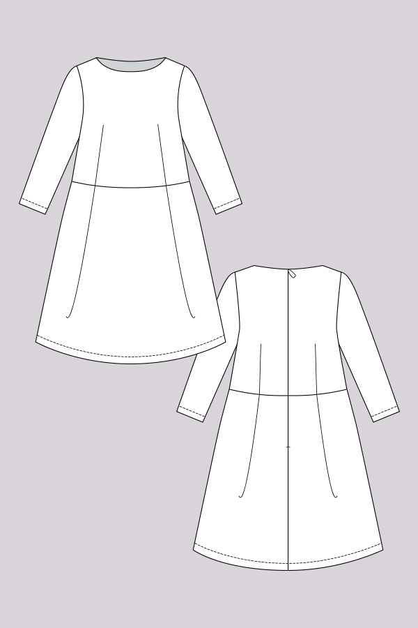 Named Clothing LEXI A-LINE DRESS & TOP Downloadable Pattern