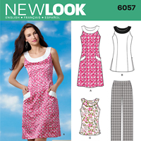 New Look 6057 Pattern ( Size 8-10-12-14-16-18 )