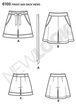 New Look 6100 shorts