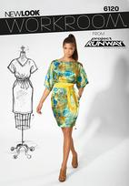 New Look 6120 Pattern ( Size 6-8-10-12-14-16 )