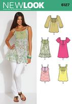 New Look 6127 Pattern ( Size 6-8-10-12-14-16 )