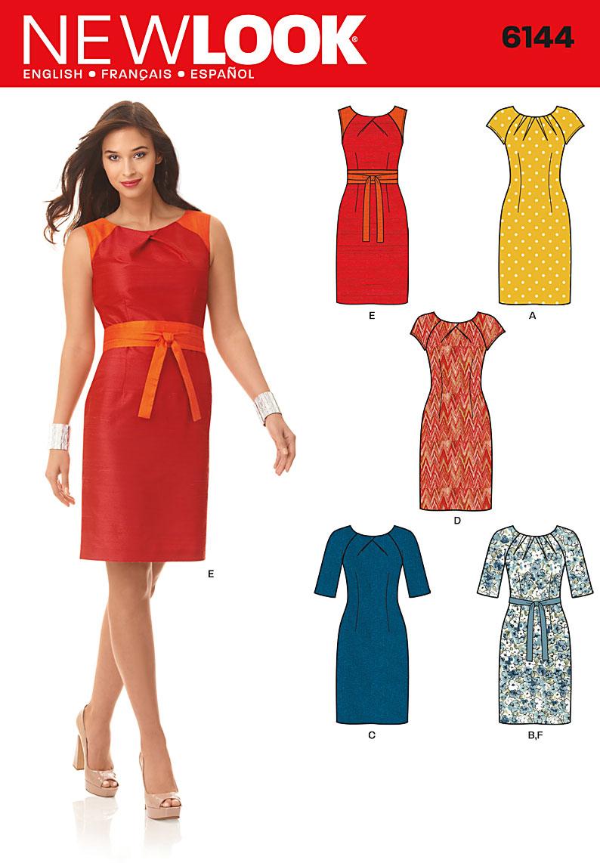 New Look 6144 Misses Dress