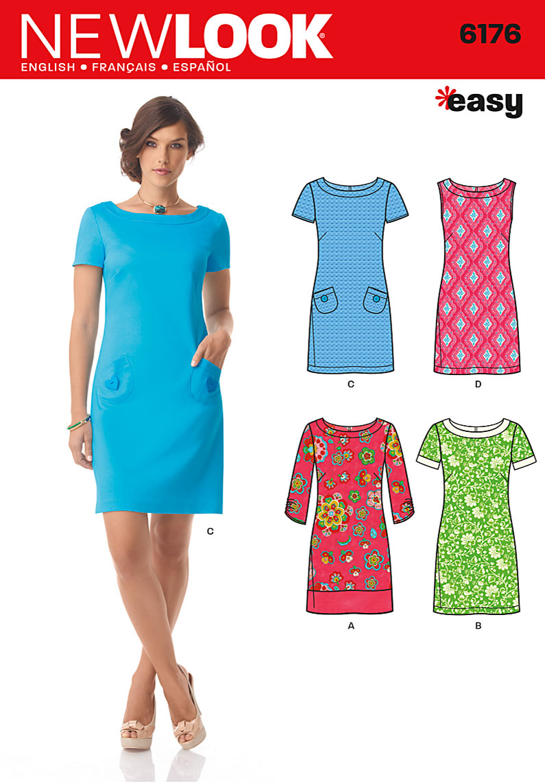 New look 6176 misses dress prevnext jeuxipadfo Image collections