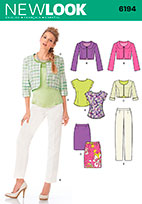 New Look 6194 Pattern ( Size 10-12-14-16-18-20-22 )