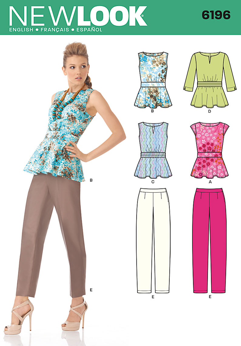 New look 6196 misses tops prevnext jeuxipadfo Image collections