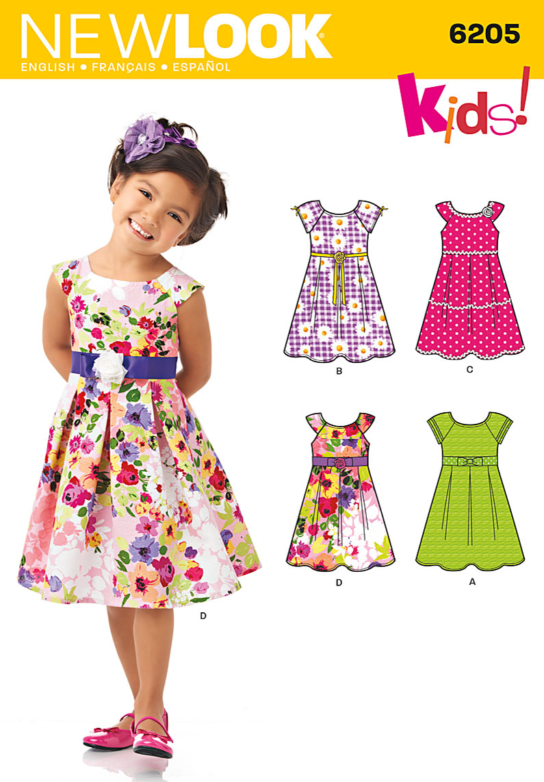 Simple dress patterns for teenage girls