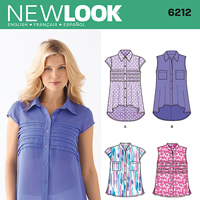 New Look 6212 Pattern ( Size 10-12-14-16-18-20-22 )