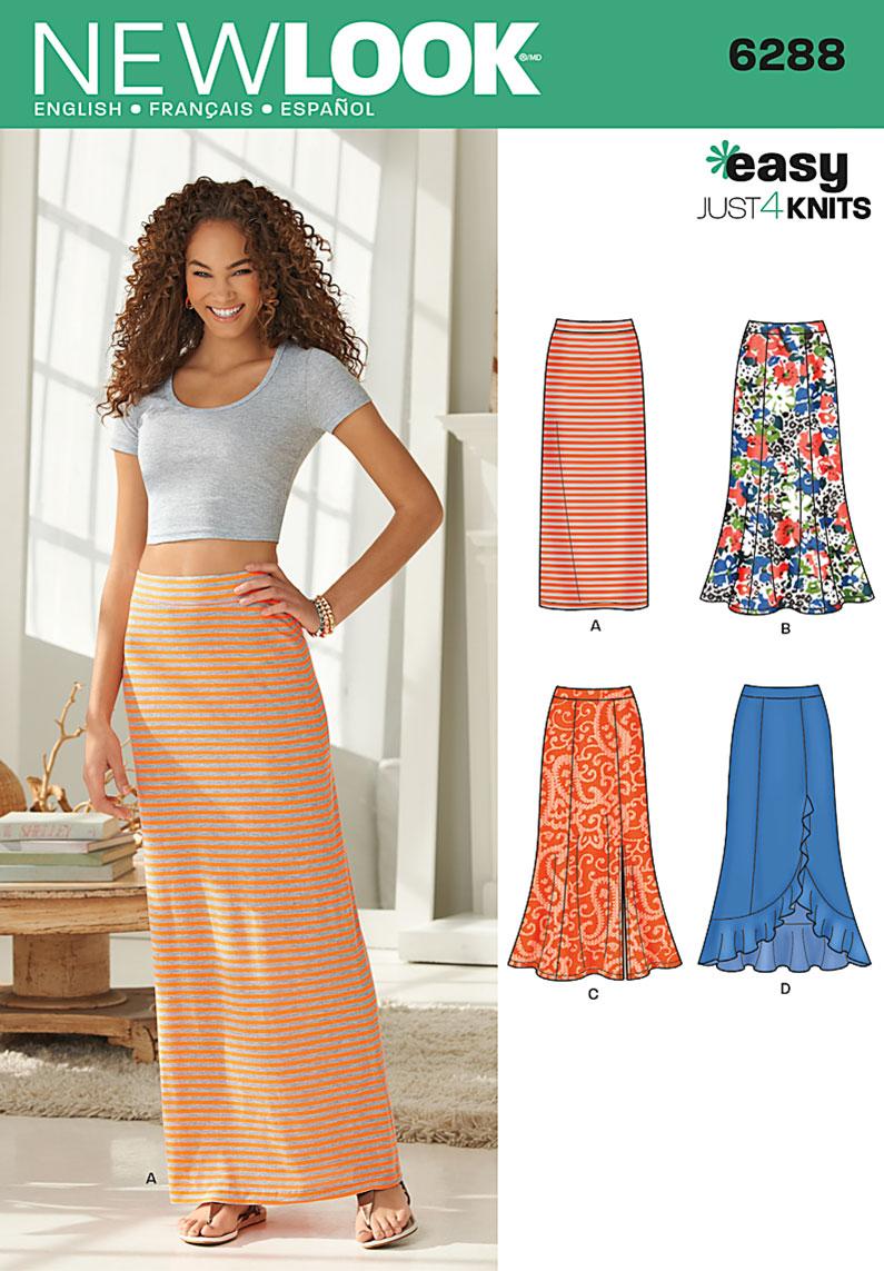 Maxi dress style patterns