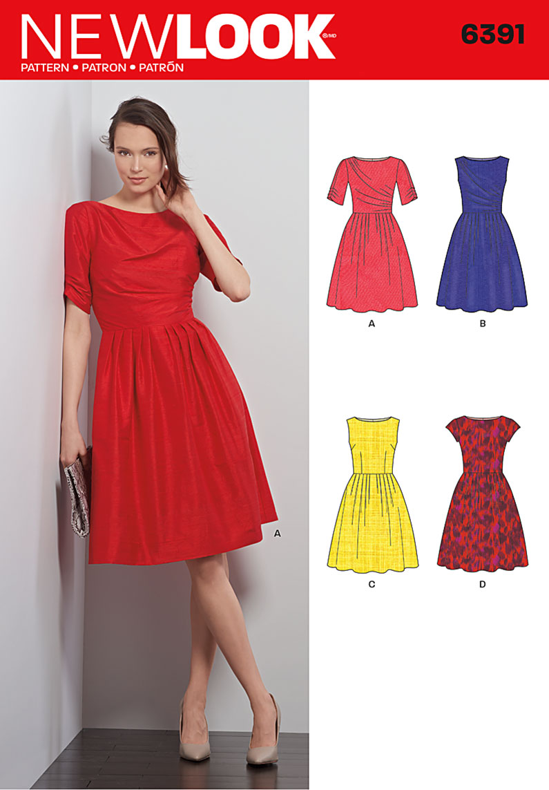de482f81ef9a New Look 6391 Misses Dresses