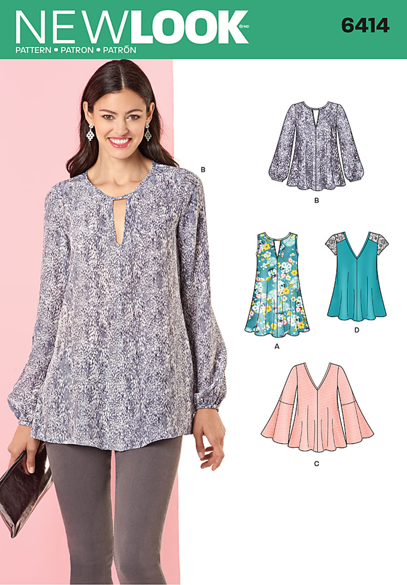ef9bba05bdea25 Sewing Patterns Tops Gallery - Free Patterns Design Ideas