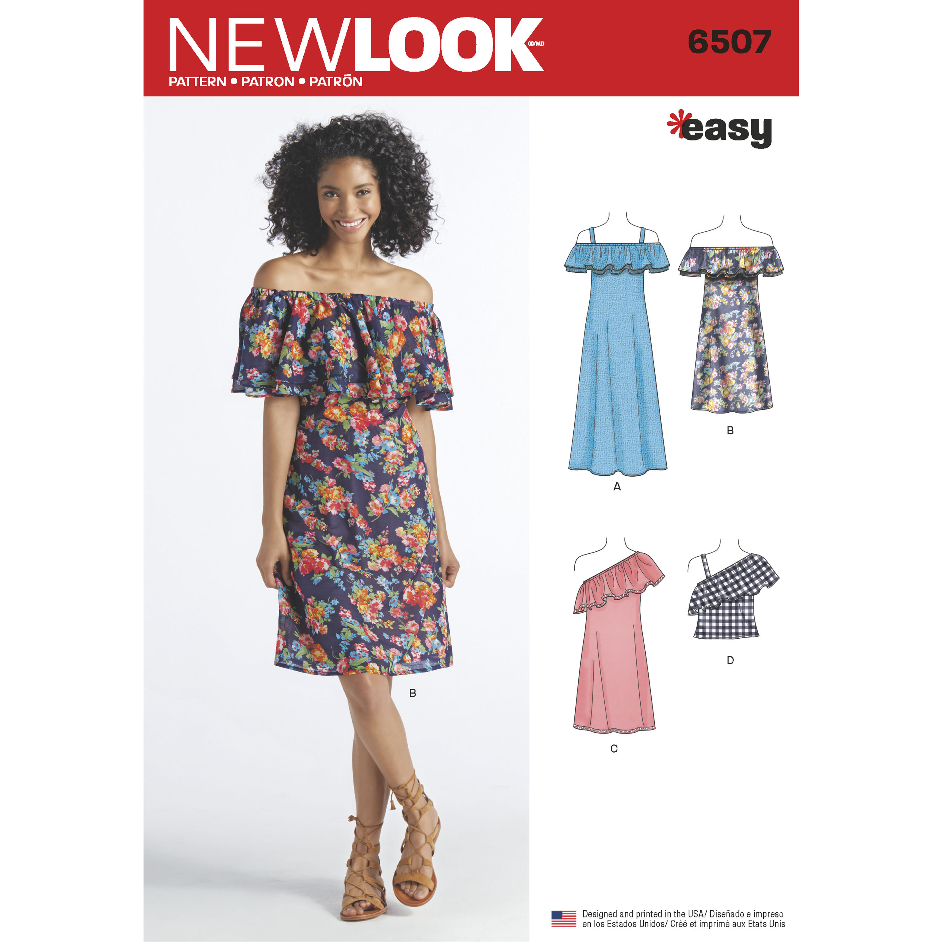New Look 6507 Misses\' Dresses and Top