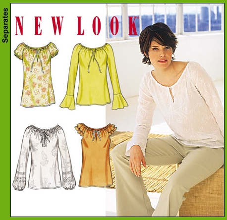 New Look 6179 Misses Tops