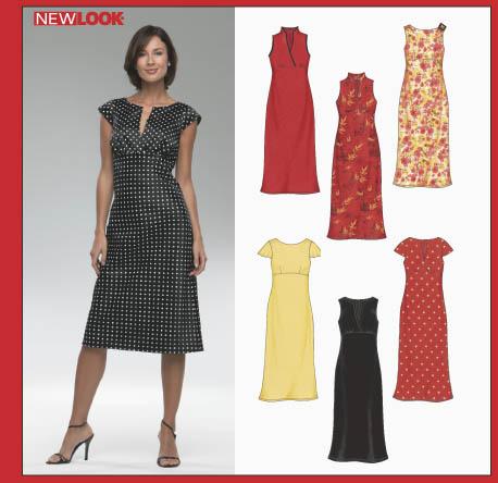 New Look 6348 Misses Dress