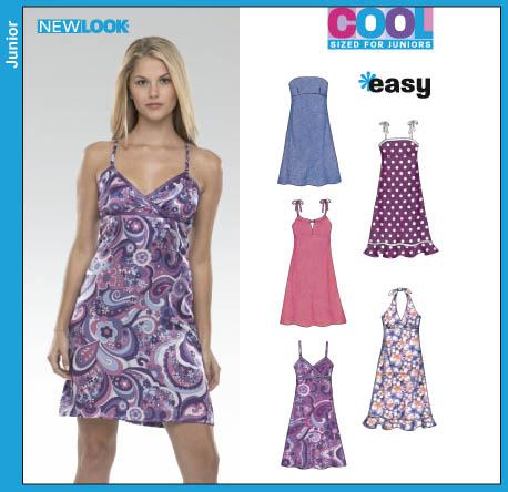 New Look 6369 Junior Dress